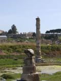 Ruins of the Temple of Artemis at Selcuk near Ephesus