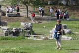 Brenda at the Temple of Artemis
