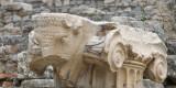 Detail of a column head at Ephesus