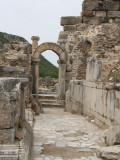 Paved streetway at Ephesus
