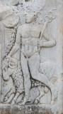 Carvings in marble at Ephesus