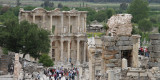 The main street of Ephesus looking down to the Celsus Library