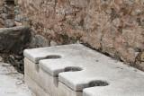 The communal latrines at Ephesus