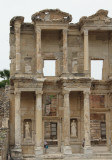 The facade of the Celsus Library, Ephesus