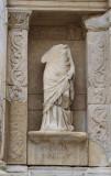 Statue of Ennoia, Celsus Library, Ephesus