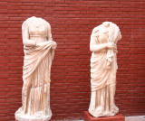 Statues in the Ephesus Museum at Selcuk