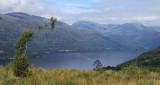 Loch Lomond and Ben Narnain from Ben Lomond