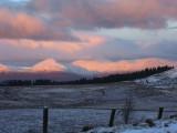 Sunrise on the Loch Lomond Hills