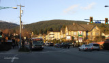 Sunny evening in January. Upper Lonsdale, North Vancouver