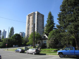 East 1st Street at St Georges Avenue, North Vancouver
