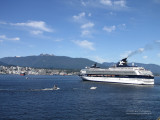 Cruise Ships in Vancouver, Canada