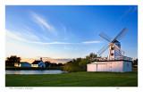 Museum grounds at dusk ,  Hillsboro
