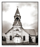 Methodist church,  Lost Springs, KS