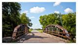 Riveted iron bridge