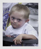 A child with Down's syndrome