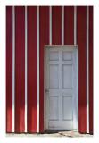 Barn door, side entrance