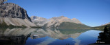 Panorama of Bow Lake