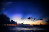 Sun setting in Tioman