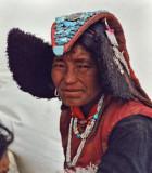 Changpa woman
