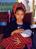 Young mother, Aungban