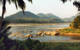 Sunset, Mekong