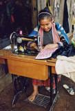 Hmong seamstress