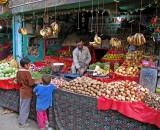Vegetable market, Kargil
