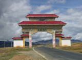 Entrance to Litang