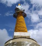 Chorten spire