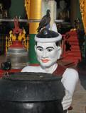 Temple figure