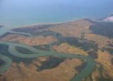 Burma coastline