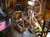 Spinning cotton