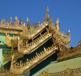Temple roof, Sagaing