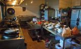 Hotel kitchen, Nagchu