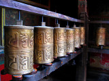 Prayer wheels, Jokhang