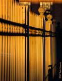 Amtrak Station Fence