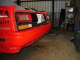 Installed - 3 shorter bumper