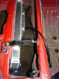 Shortened/relocate radiator brackets