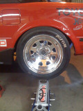 Ride height test rear