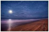 Moon over Broadbeach