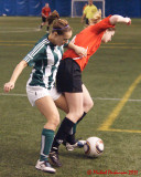 St Lawrence Brockville Schooners vs Sir Sandford Fleming Peterborough Knights W-Indoor Soccer 03-12-11