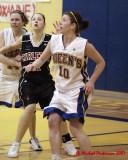 Queen's vs Carleton W-Basketball  02-09-07