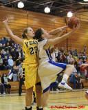 Queen's Vs Laurentian W-Basketball 02-21-07