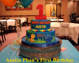 2012 - Austin Phan's First Birthday - Album 1: Cake