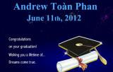 2012 - Andy Phan's Graduation