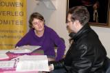 DSC_1207 Sofie De Graeve met pers