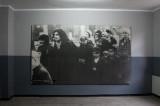 portrait of arrival prisoners taken by SS