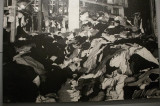 mountain of clothes from people murdered in the gas chambers