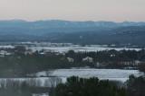 am nächsten Tag / next day - der Schnee verschwindet wieder / the snow is going