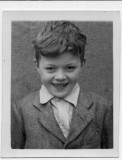 Me, circa 1953 aged 5